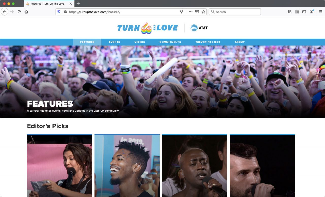 Featured Articles on turn up the love website