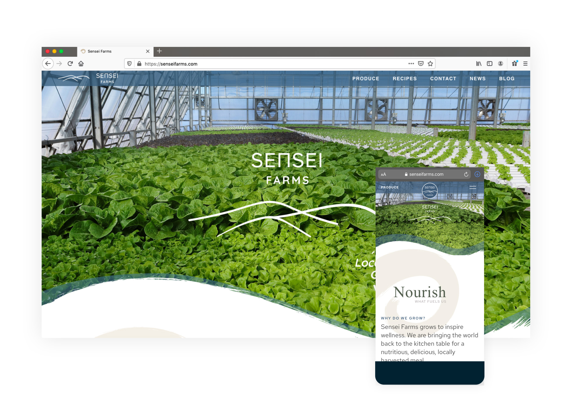 Sensei Farms Home Page