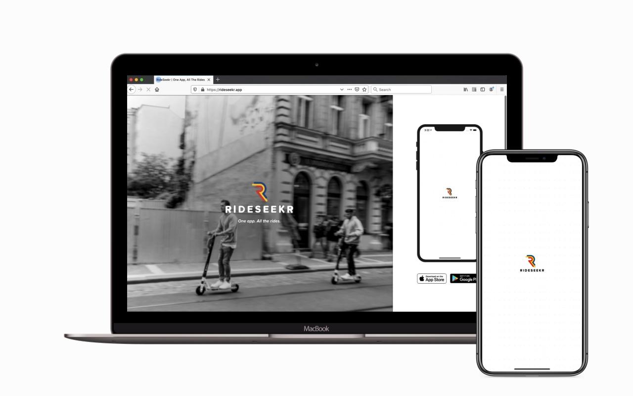 RideSeekr Marketing Website
