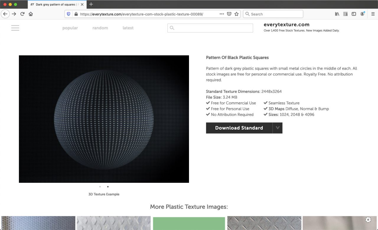 free texture website download page